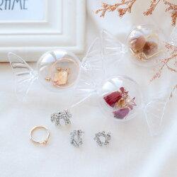 圓形糖果造型收納盒 飾品收納盒 攜帶式 飾品盒 收納盒 旅行 外出 飾品 戒指 耳環 項鍊【B063534】