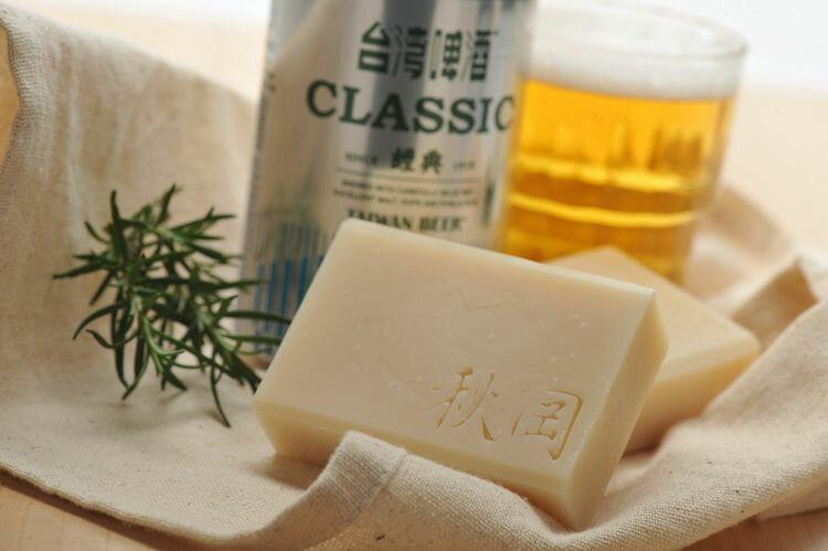 【康健天地】秋岡。金黃啤酒洗髮皂