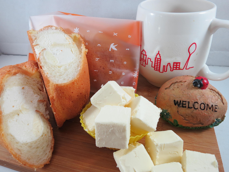 【Bliss Castle】首創灌飽包#爆漿麵包#中階綜合(四入一盒)法式香草*1厚黑巧克力*1低脂乳酪*1紅豆抹茶*1#下午茶#夏日野餐趣#多種吃法# 4