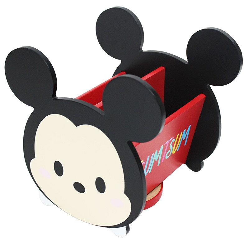 X射線【C384412】米奇Mickey TsumTsum 旋轉收納盒,置物櫃/收納櫃/收納盒/抽屜收納盒/木製櫃/木製收納櫃/收納箱/桌上收納盒
