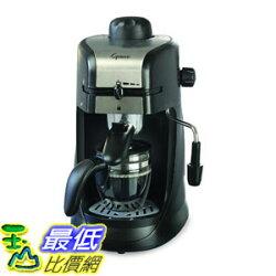 [7美國直購] 咖啡機 Capresso 304.01 Steam Pro 4-Cup Espresso & Cappuccino Machine