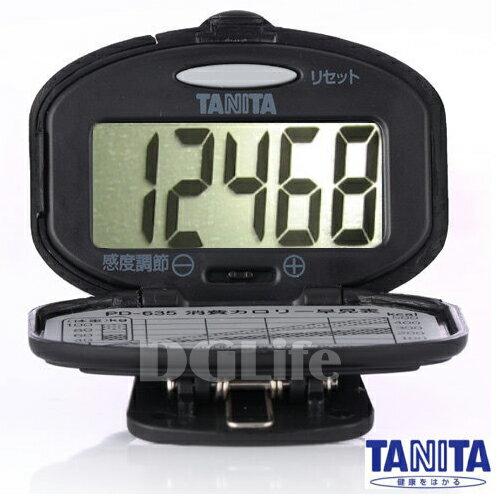 TANITA 計步器 PD635 黑色