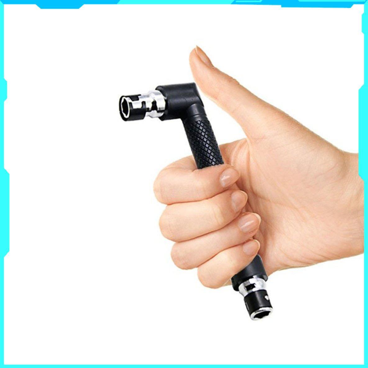 【全館免運】微型兩用套筒扳手6.35氣動批/螺絲刀/螺絲刀 迷你雙頭套筒扳手