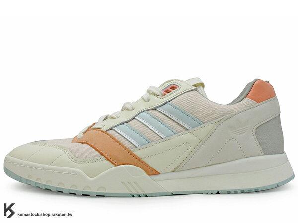2019 限量發售 法國選貨店 THE NEXT DOOR x adidas Consortium A.R TRAINER 卡其 復古足球式樣休閒鞋 (EE6681) ! 0