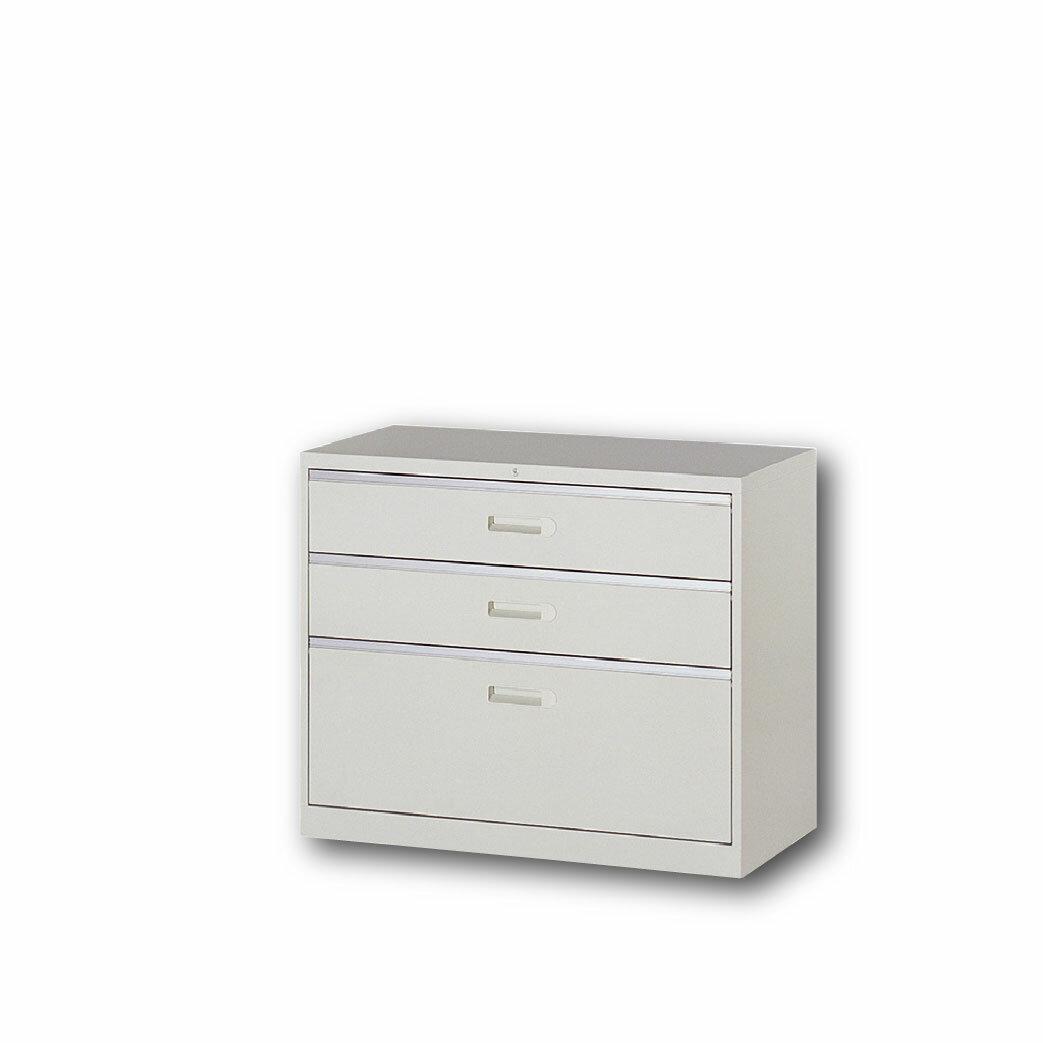【哇哇蛙】理想櫃/一般抽屜二小一大層式 UD-3A 辦公 學校 收納 文件報表 置物櫃 分類櫃 隔間櫃 鐵櫃 資料櫃