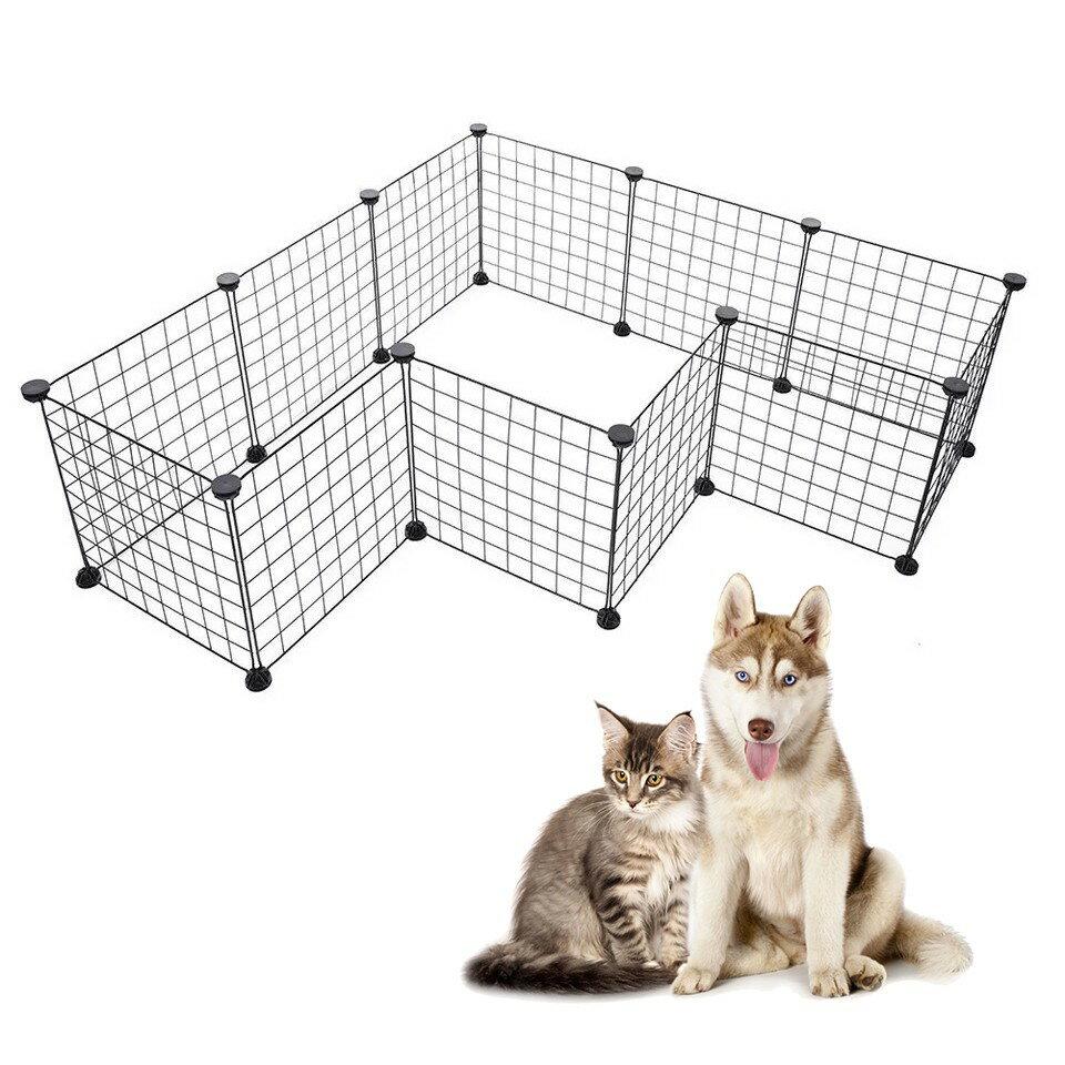 百變自由組合 DIY寵物圍欄 室內柵欄 寵物圍欄 狗圍欄 貓圍欄 隨意組合圍欄