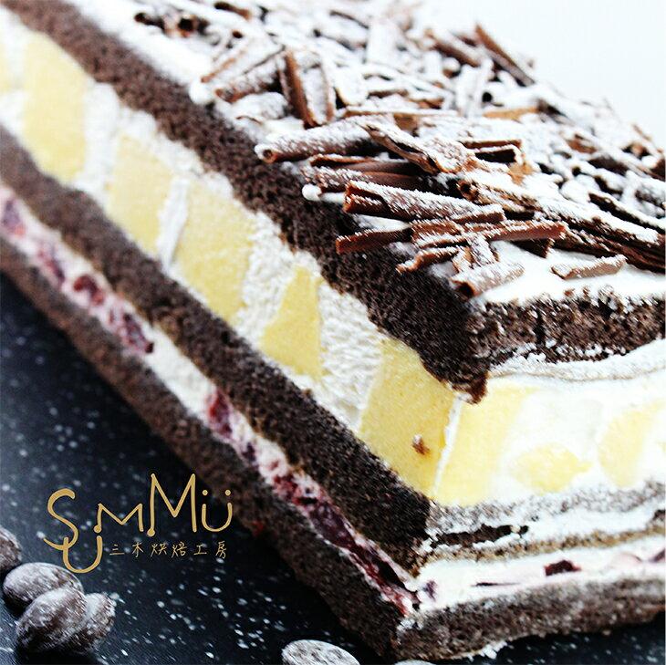 赤裸の森林蛋糕★黑櫻桃巧克力蛋糕