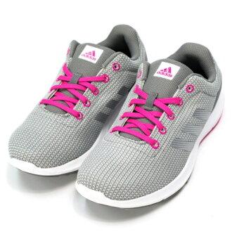 【ADIDAS】COSMIC W TEXTILE 運動鞋 慢跑鞋 灰色 女鞋 (女)AQ2174