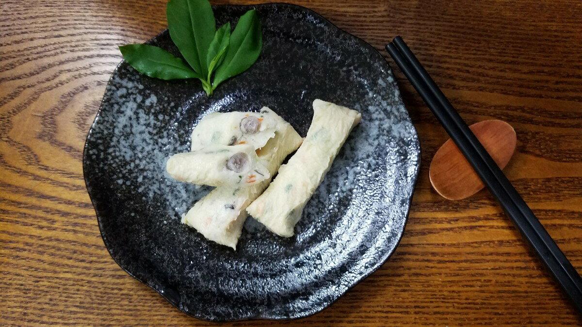 海鮮香芋捲-【利津食品行】火鍋料 關東煮 芋頭 包餡 冷凍食品