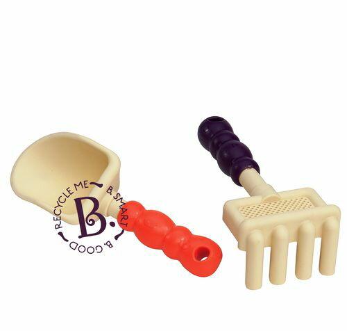 ★衛立兒生活館★美國【B.Toys】沙麻吉-紫橘