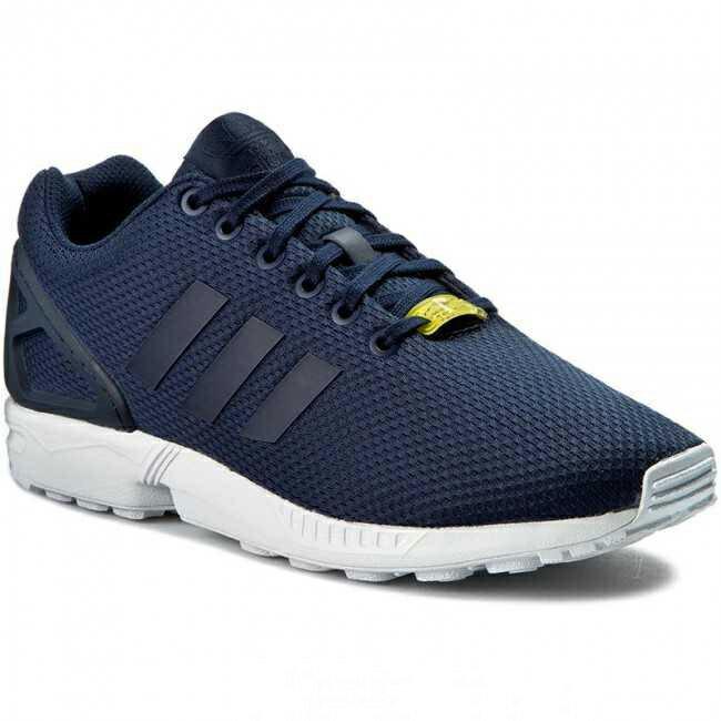 Adidas ZX FLUX 男鞋 女鞋 慢跑 休閒 透氣 輕量 深藍 【運動世界】 M19841