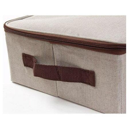 附蓋收納盒 橫式半格型 BROWNIE JAKO-112B3 NITORI宜得利家居 4