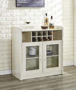 尚品傢俱:【尚品傢俱】JF-408-2萊姆2.8尺白木紋餐櫃
