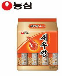【韓新館】農心 鮮蝦風味脆餅(原味-小) (30g*4包) (缺貨中)
