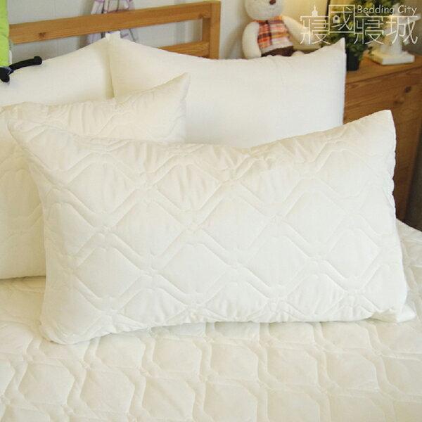 枕頭保潔墊(2入)日本DNW防螨技術、加厚鋪棉、可機洗  #防螨 #寢國寢城 1