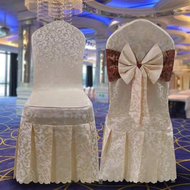 椅套 酒店餐廳餐桌餐椅飯店宴會通用座椅凳子椅子套罩專用婚慶椅套定做【KL600】