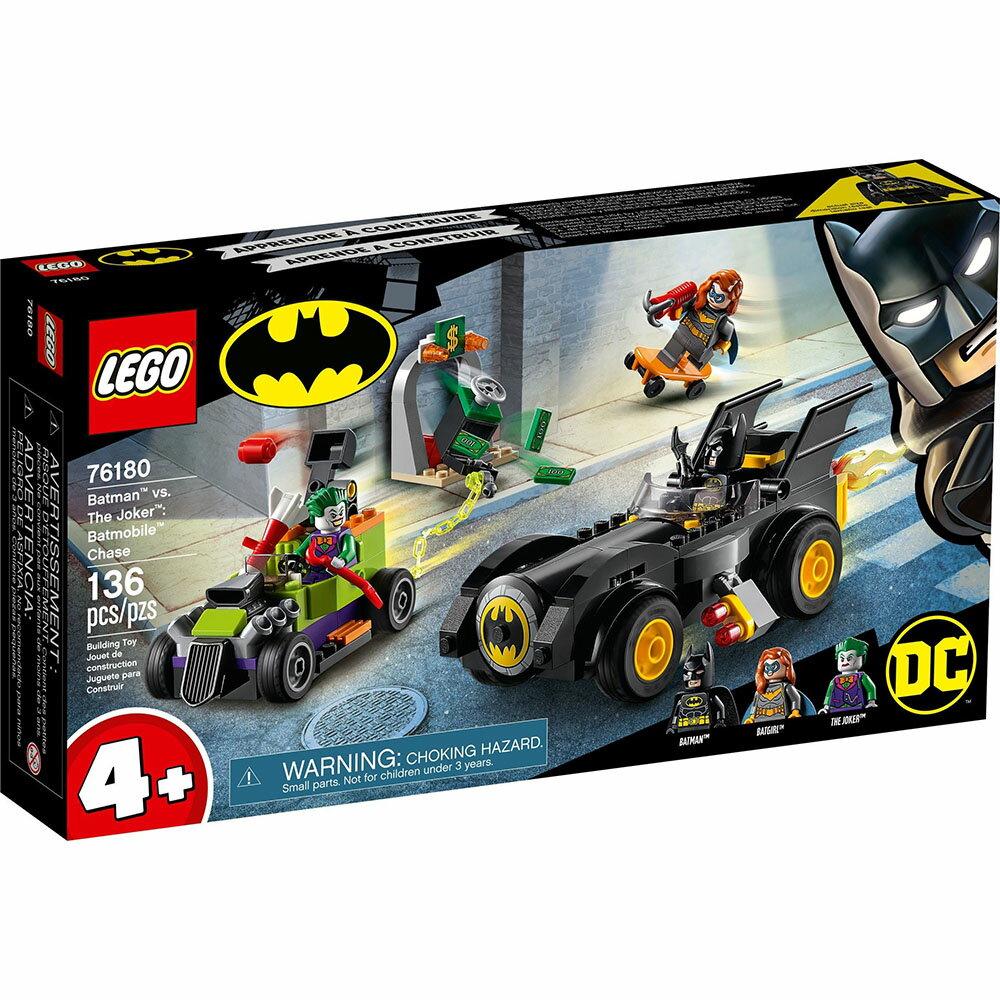 樂高LEGO 76180 SUPER HEROES 超級英雄系列   Batman™ vs. The Joker™: Batmobile™ Chase