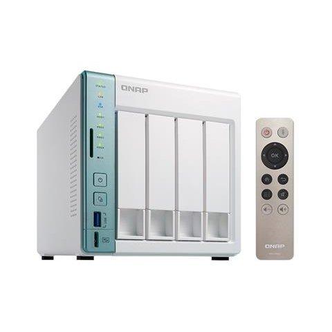 【新風尚潮流】 QNAP X51A NAS 網路儲存設備 私有雲 2GB RAM 可裝4顆硬碟 TS-451A-2G