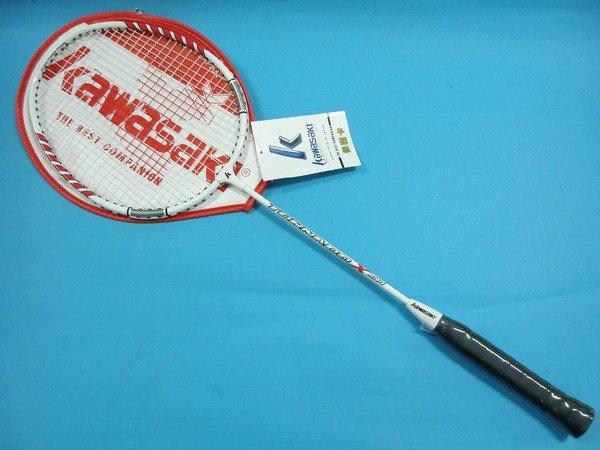Kawasaki 川崎羽毛球拍KBA500羽球拍 羽拍^(附拍套^) 一支入^~定500^