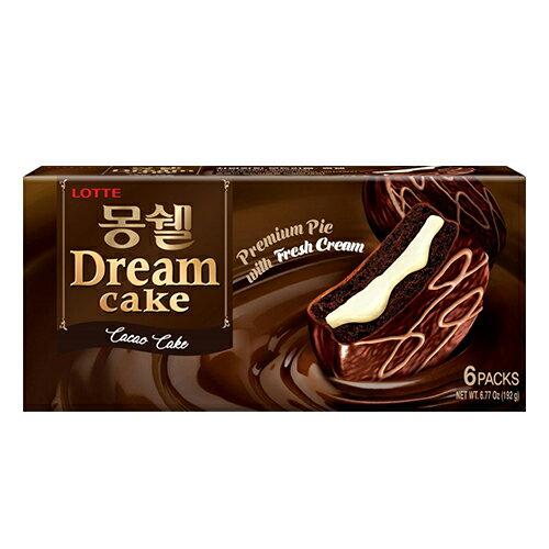 LOTTE 夢幻巧克力派~可可風味192g~愛買~