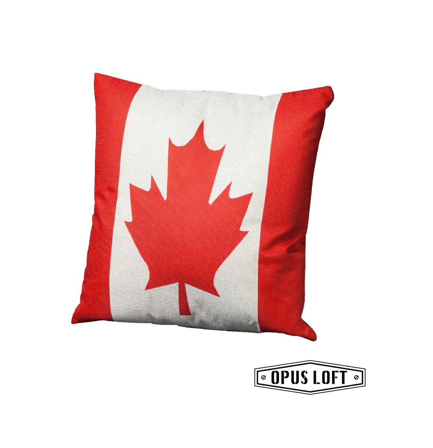 加拿大國旗抱枕