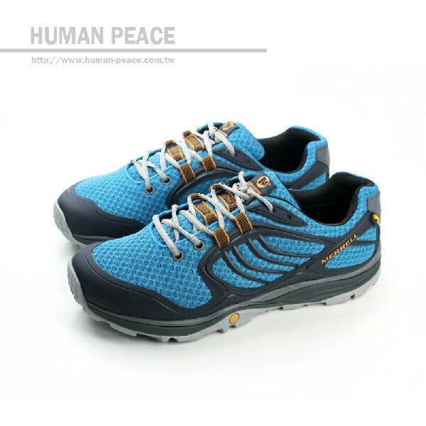 MERRELL VERTERRA SPORT GORE-TEX 跑鞋 藍 男款 no554
