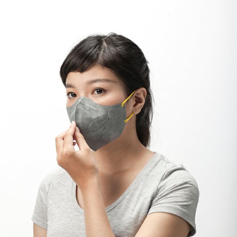:dc® 克微粒 奈米薄膜口罩 立體成人 6 片/盒