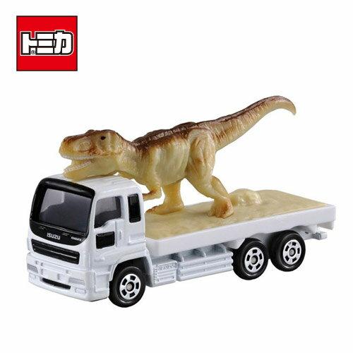 【日本進口正版商品】TOMICA 多美小汽車 NO.30 恐龍 搬運車 模型車 擺飾 玩具車 - 359661