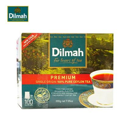 斯里蘭卡【Dilmah帝瑪】錫蘭紅茶 2gX100入/盒