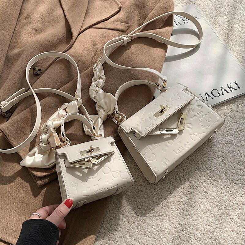 手提包 高級感洋氣小包包女2021新款潮今年流行手提凱莉包爆款百搭斜挎包【星空物語】STBN6