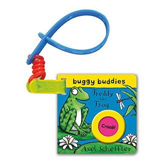 Buggy Buddies:Freddy The Frog 小青蛙福瑞迪 有聲硬頁吊掛書