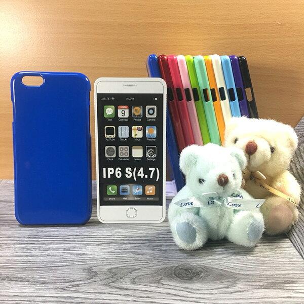 大都會保護殼AppleiPhone6iPhone6s保護殼TPU軟殼閃粉矽膠殼手機殼背蓋
