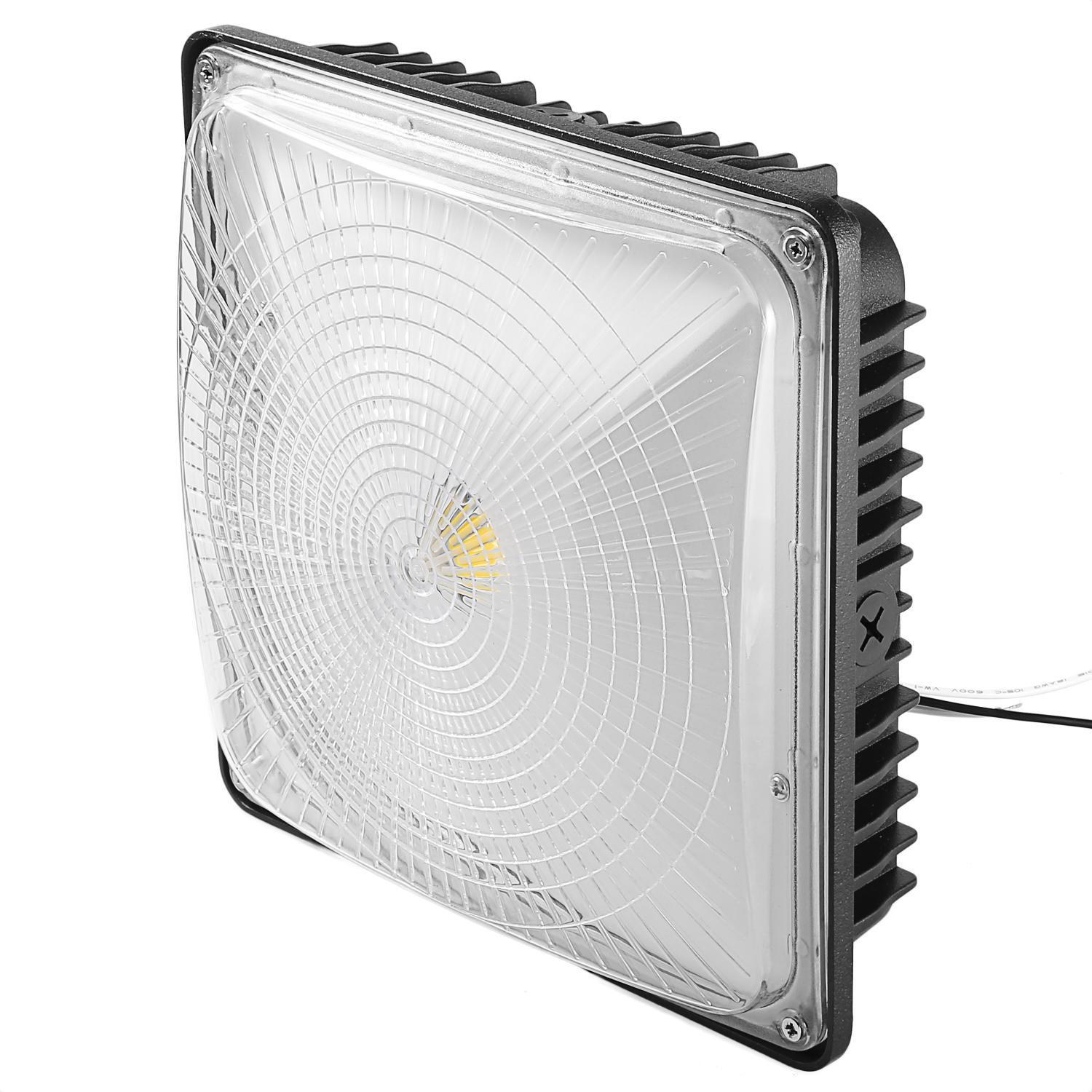 50W LED Square Canopy Ceiling Light Lamp Galley Garage Bay Light 3