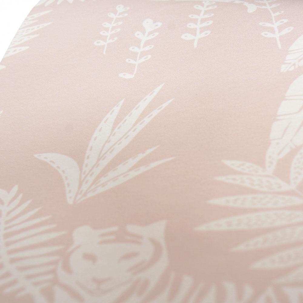 法國壁紙  動物紋 綠色植物紋 兒童房壁紙 2色可選 Season Paper 壁紙 5