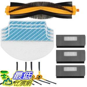 [107美國直購] Electropan Replacement Ecovacs Accessory Kit for DEEBOT M80 M80 Pro Robotic Vacuum Cleaner..