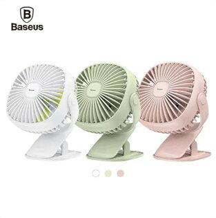 【Baseus】方盒夜燈夾子360度旋轉桌面風扇小風扇桌立風扇手持風扇【迪特軍】