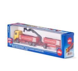 (卡司 正版現貨) 德國小汽車 SIKU 超長運輸吊車 SU1797 兒童禮物 模型車 玩具車