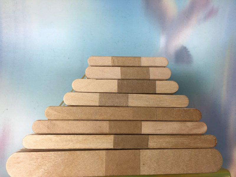 【八八八】e網購~【冰棒棍140*10*2MM】模型木片拼裝木棒木條碎冰棍幼教材料房子模型材料攪拌棒 2
