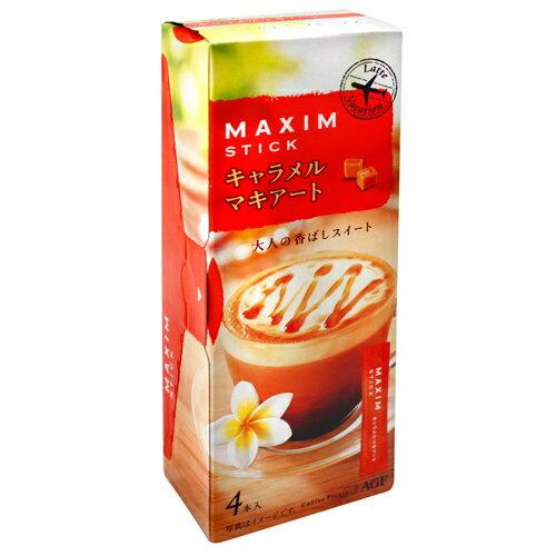 AGF Maxim焦糖瑪奇朵 4本入 (56g)