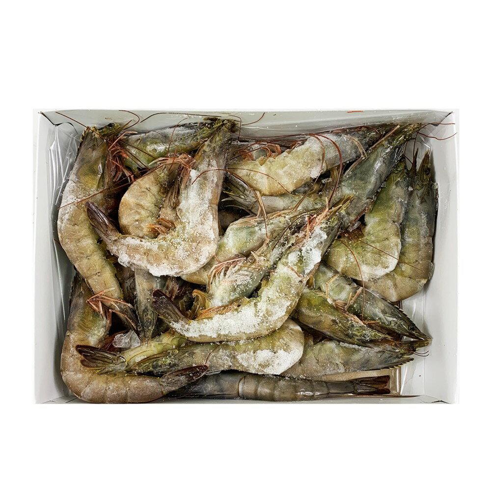 超鮮活凍白蝦(600公克/31-40 尾)【真食材本舖・RealShop|海鮮】