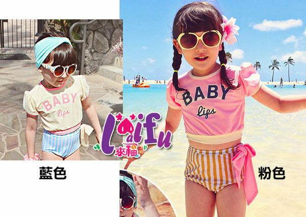 ~草魚妹~F14泳衣BABY短袖兒童泳衣小朋友游泳衣二件式泳裝,售價499元