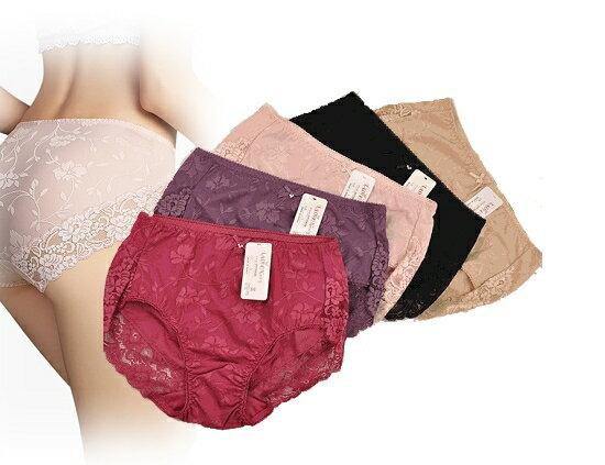 【晨光】韓國製 蕾絲邊印花無痕內褲(紅/紫/粉/黑/膚 )(EPT2063)【現貨】