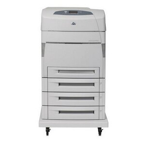 HP LaserJet 5550hdn Laser Printer - Color - 600 x 600 dpi Print - Plain Paper Print - Desktop - 28 ppm Mono / 28 ppm Color Print - A3, A4, A5, B5, B4 (JIS), Letter, Legal, Executive, ... - 1350 sheets Standard Input Capacity - 120000 Duty Cycle - Automati 0