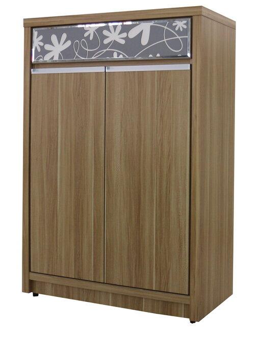 【尚品傢俱】 324-14 雲物語 原木色3*4(另有3*6、3*7、4*4尺)鞋櫃/Shoes Cabinet