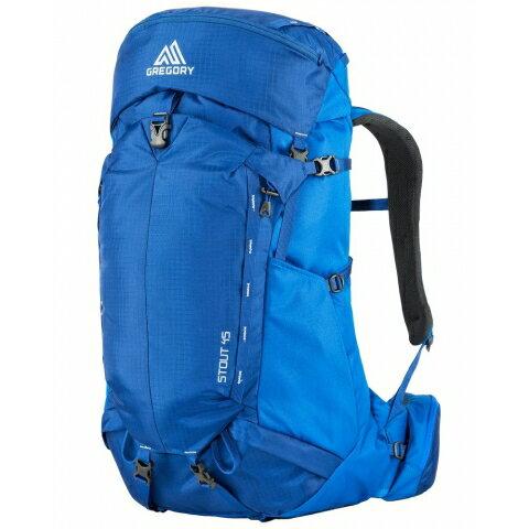 ├登山樂┤美國GREGORYStout45登山背包男M號藍黑兩色可選#65023