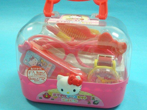 Hello Kitty凱蒂貓A150KT外出郊遊化妝箱(手提盒)/一個入{促299}