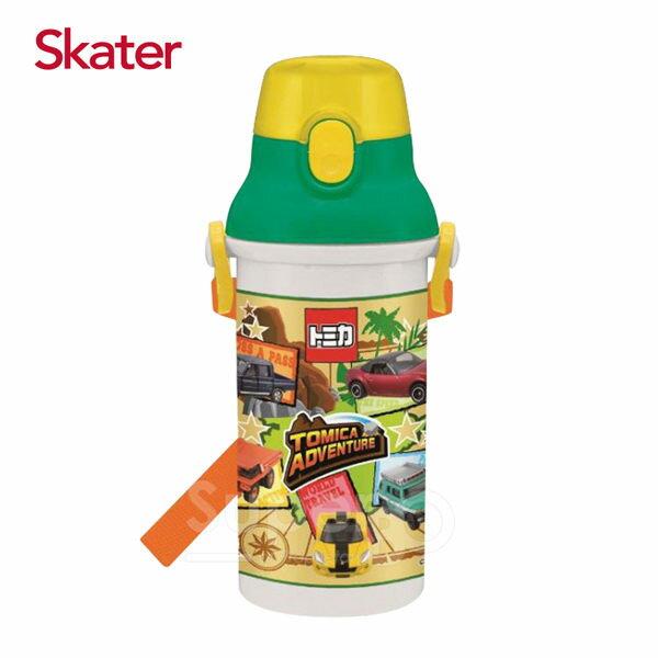 日本【Skater】直飲冷水壺(480ml)-TOMICA冒險篇