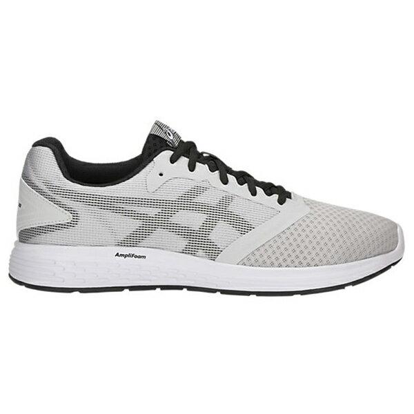 Shoestw【1011A131-023】ASICS 亞瑟士 PATRIOT 10 慢跑鞋 基本款 網布 淺灰白黑 男生 0