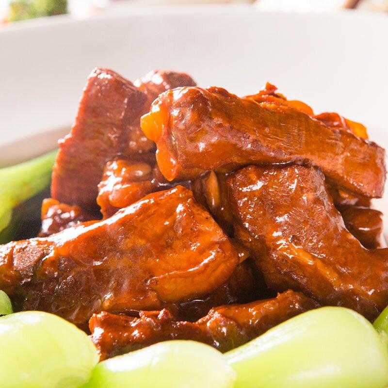 【江蘇名菜】無錫肉骨頭→與傳統的死鹹口感不同,冰糖提甘,吃起來帶甜不鹹更健康,不管是宴客或是加菜都會被稱讚好手藝的美味料理。
