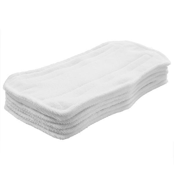 6pcs White Replacement Pads For Shark Pocket Steam Mop 0